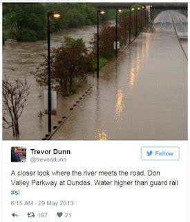 GO Train Worst Flood