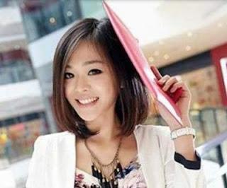 model rambut pendek wanita asia brief bob hair