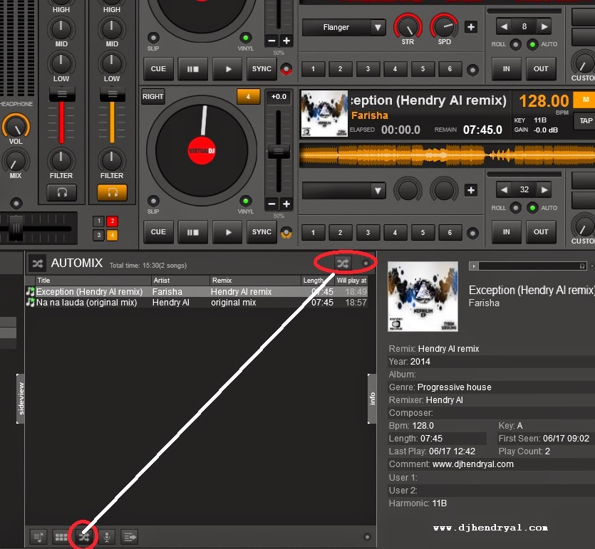 cara mixing lagu mudah di virtualdj 8