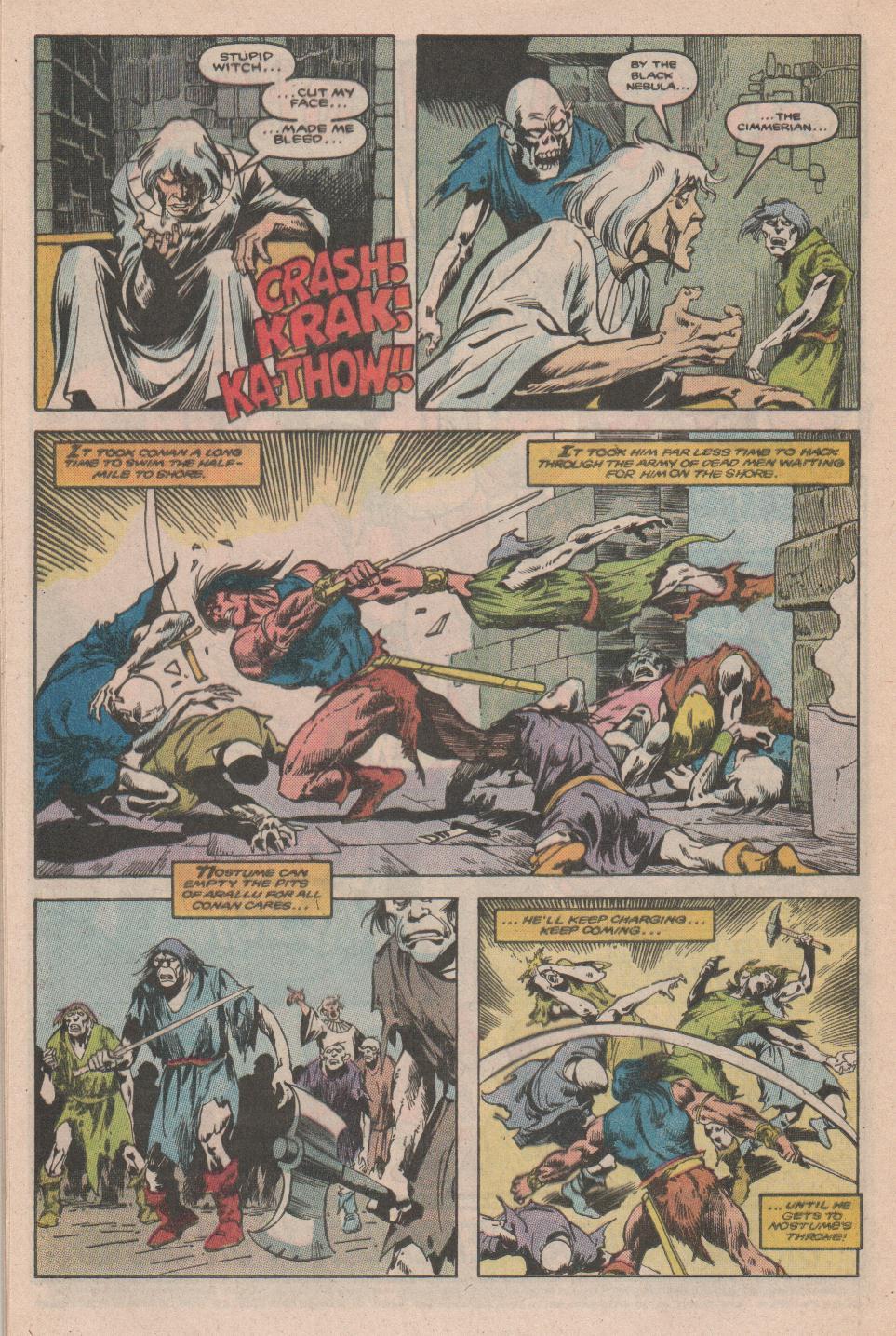 Conan the Barbarian (1970) Issue #177 #189 - English 17