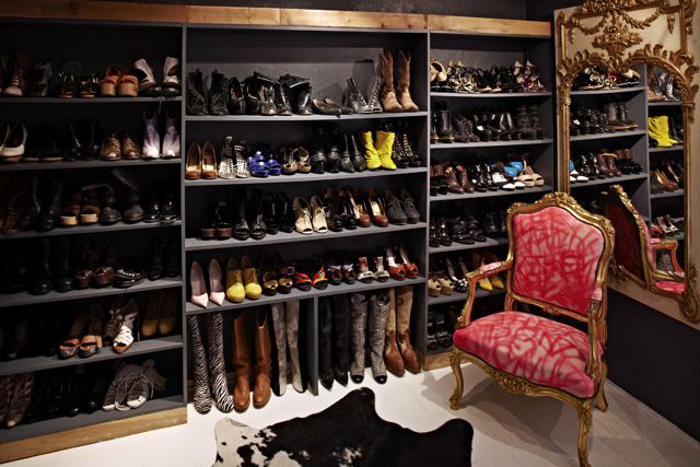 39 crazy designer shoes to drool over aaaaand some dream closets