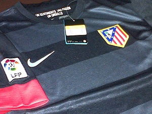 jersey Atletico Madrid Away 2012/2013