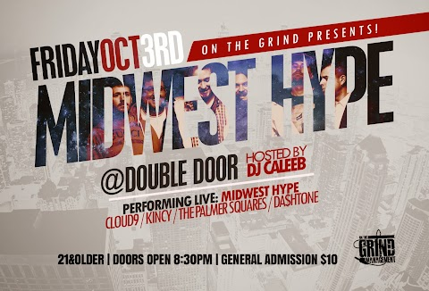 CHICAGO EVENT: Midwest Hype, The Palmer Squares, Kincy & more @ Double Door (10/3)