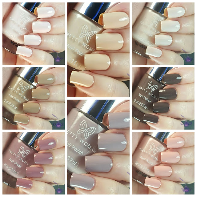 Pretty Woman Nude Collection swatch