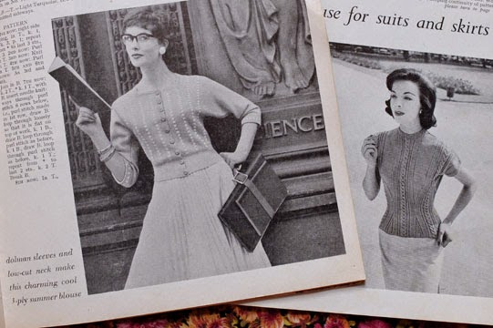 1950s vintage knitting patterns