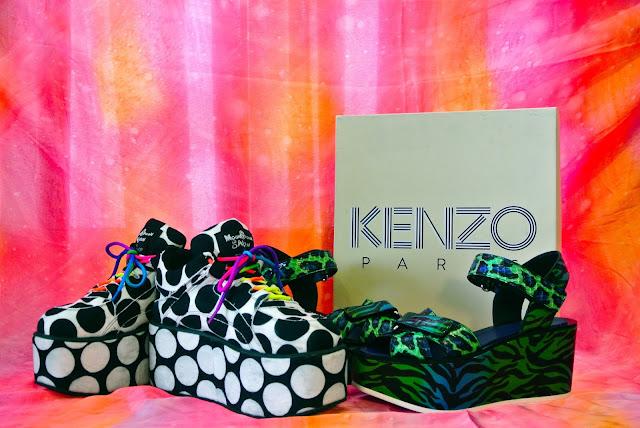 Kenzo flatforms MoonSpoon Buffalo Topshop