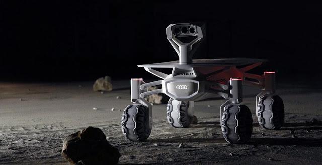 The Audi lunar quattro rover. Credit: Audi