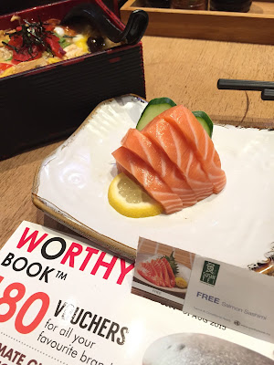 worthy book sushi tei