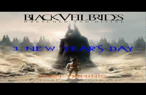 black veil brides new year's day  cover