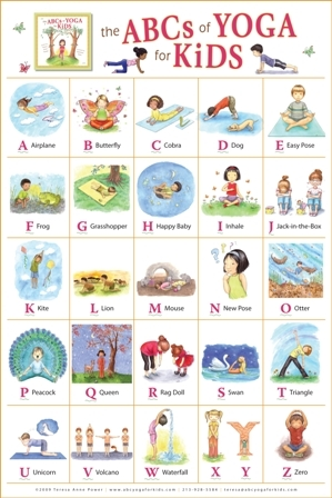abcs of yoga for kids has developed some beautiful resources such as this poster to assist you in introducing yoga to your children - Children Printables
