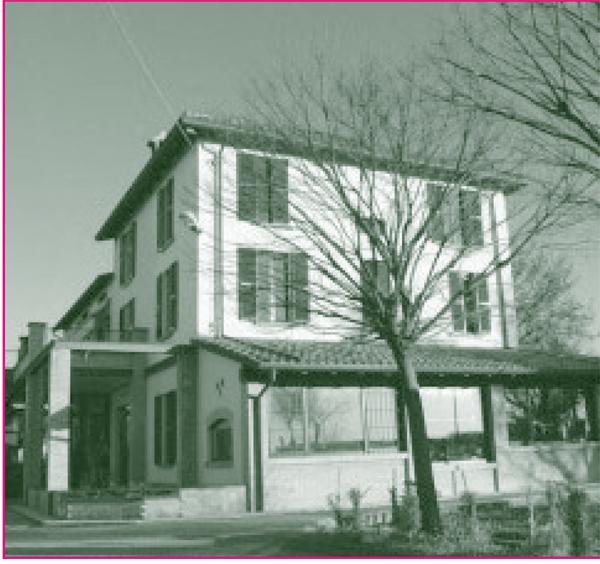 Fidenza il filo della storia il 30 della casa di for Disegni della casa di tronchi