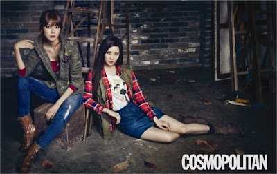 Seo Hyung and Soo Young - Cosmopolitan Fashion