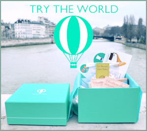 Get $15 off your first Try the World Box!