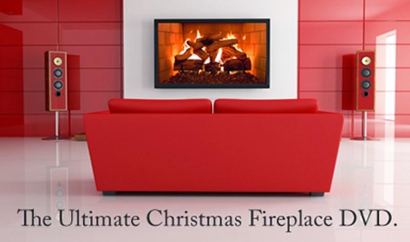 Как сделать камин из телевизора - визуализатор Plasmavironments Ultimate Christmas Fireplace DVD