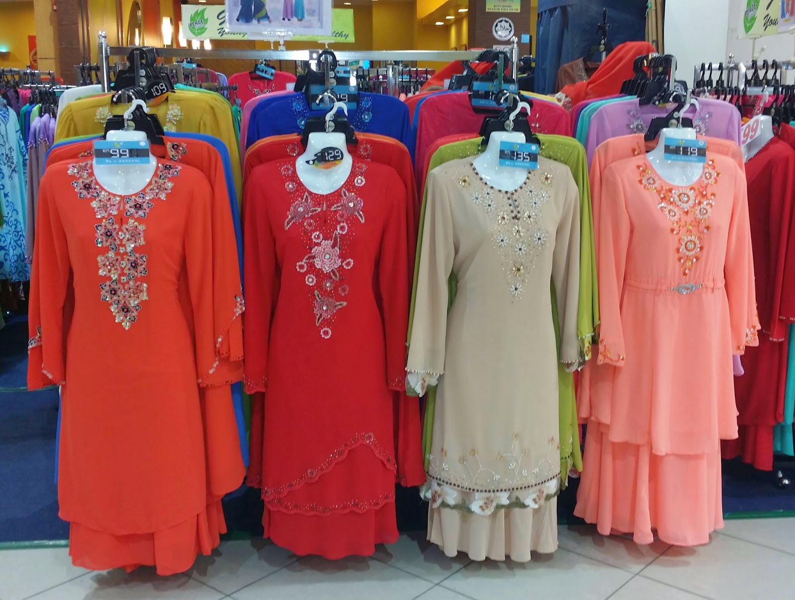 butik peace collection, peace collection di kota bharu, peace collection kbmall, baju kurung 2014, baju raya 2014, BAJU KURUNG MODEN 2014,