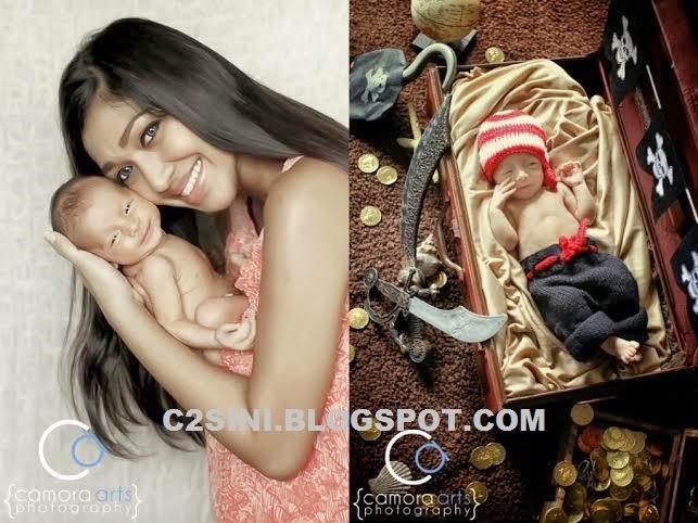 5 Gambar Eksklusif Wow foto foto comel anak kedua Nurul Depp