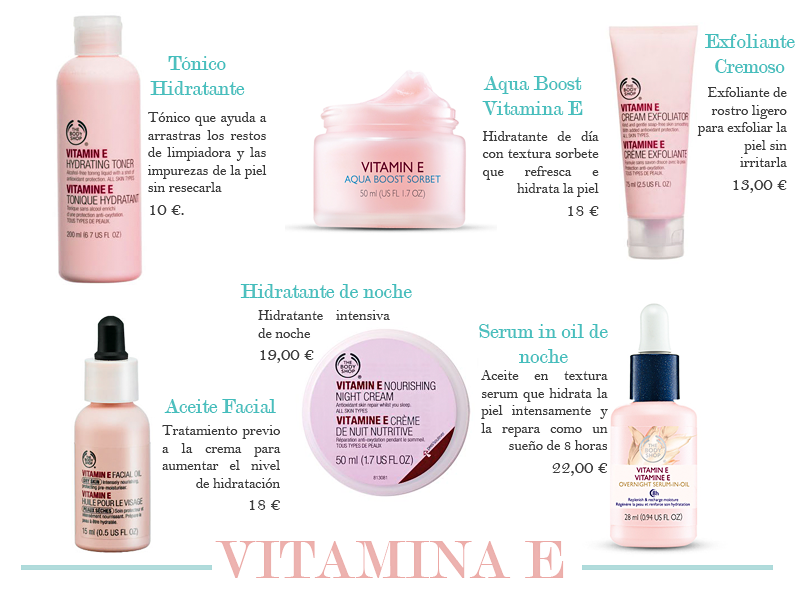 the body shop vitamina e