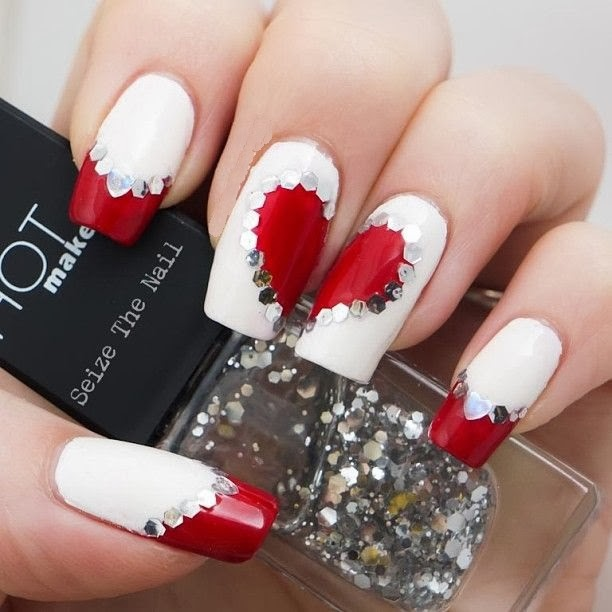 Valentine Nail Art Design!! ~ Nail and Beauty Ideas