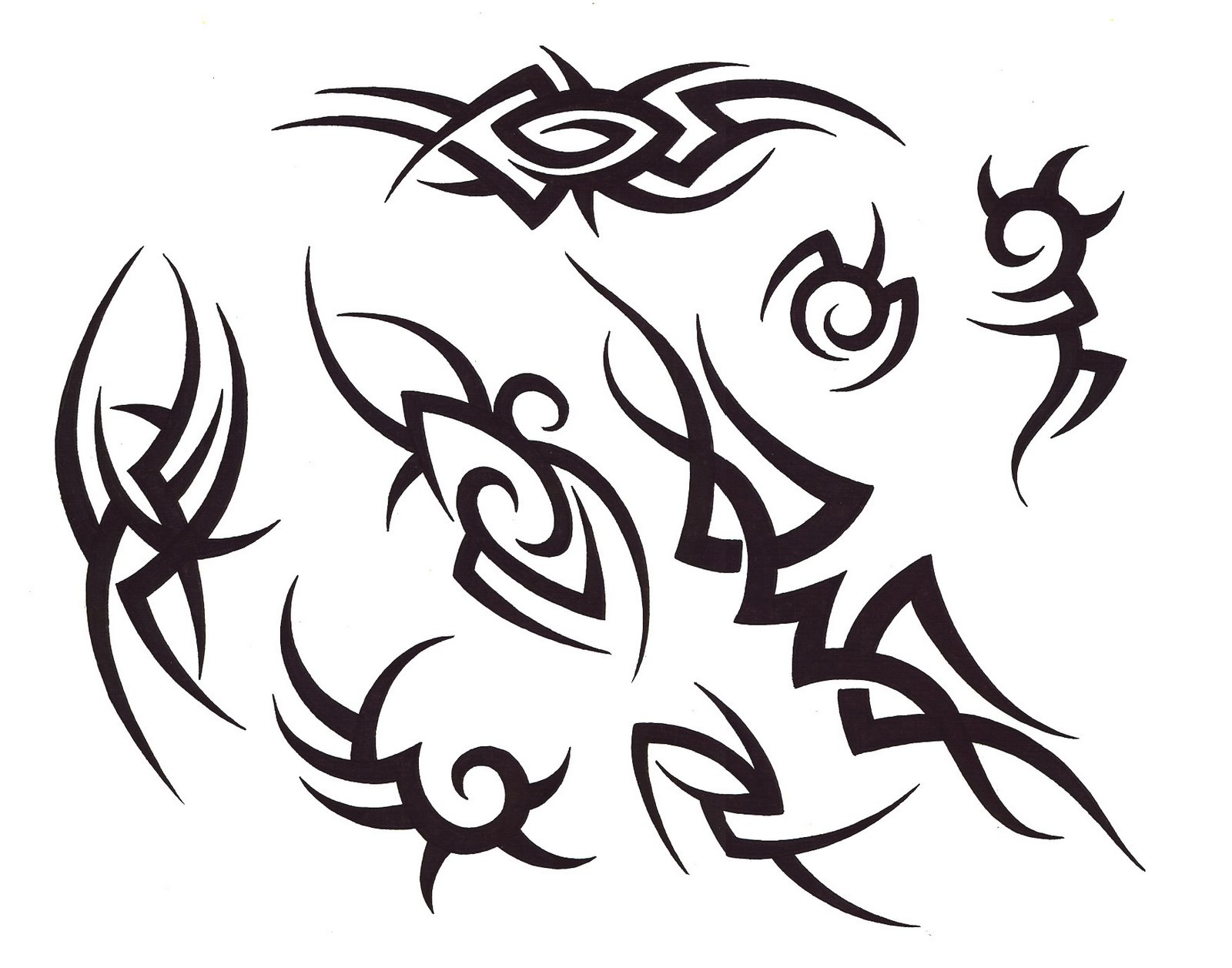 Necessary phrase... Tribal tattoo designs