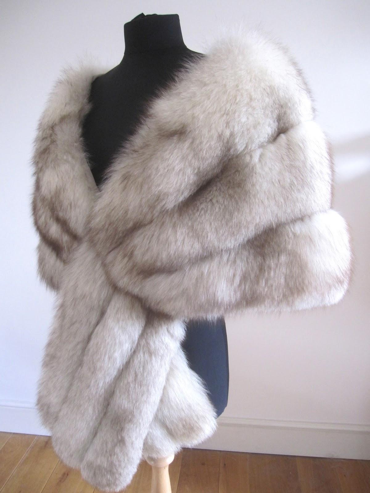 Rosie Daydream Abraham Straus Vintage Norwegian Fox Fur