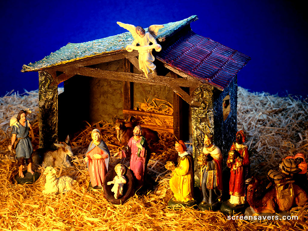 christian christmas nativity wallpaper viewing gallery