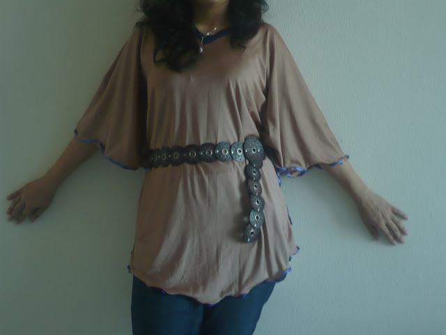 how to sew a kaftan dress