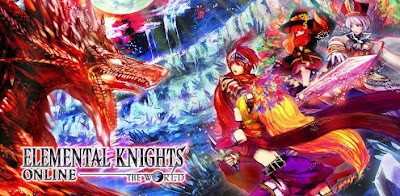 Elemental Knights Online RED .Apk