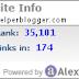 All Types Of Alexa Widgets For Blogger