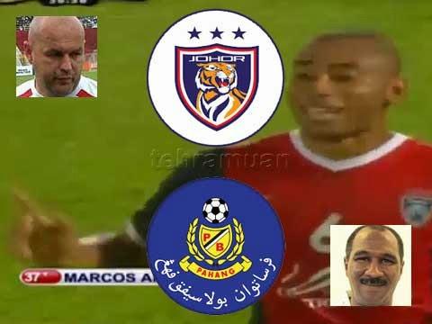 Johor DT Vs Pahang - Piala Sumbangsih 2015