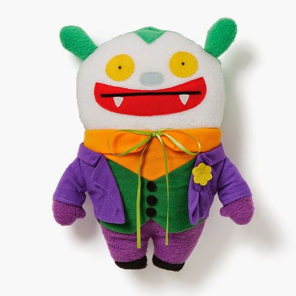 DC Comics x UglyDoll Plush Figures Wave 3 - Big Toe as The Joker