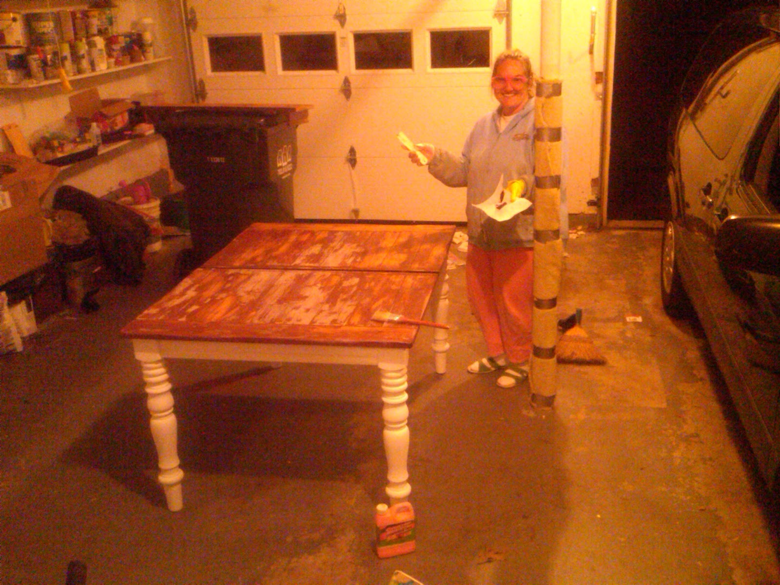 Stripping Dining Room Table Cm Shaw Studios Dana39s Table And The Year Of The Dining Room