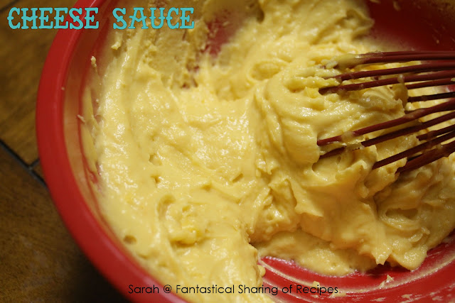 Cheese Sauce for Nachos and Fries - four ingredients to the best #cheese sauce of your life!
