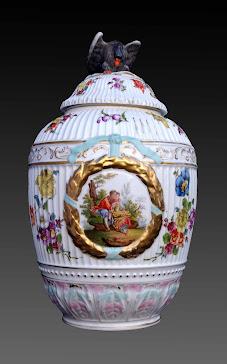 Porcelana Alemana;Berlin S.XIX