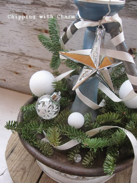 Chipping with Charm: Vintage Sprinkler Tree...http://www.chippingwithcharm.blogspot.com/
