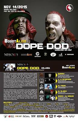 Dope D.O.D. BogotAlive 2015