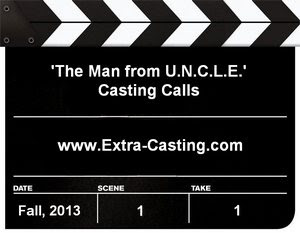 The Man from U.N.C.L.E. casting call in London