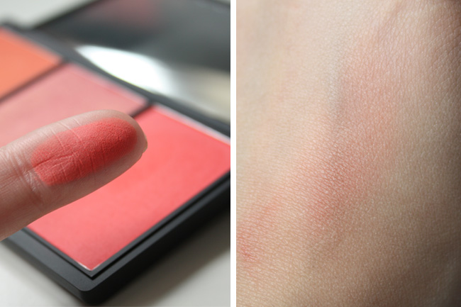 Sleek blush by 3 Lace swatch
