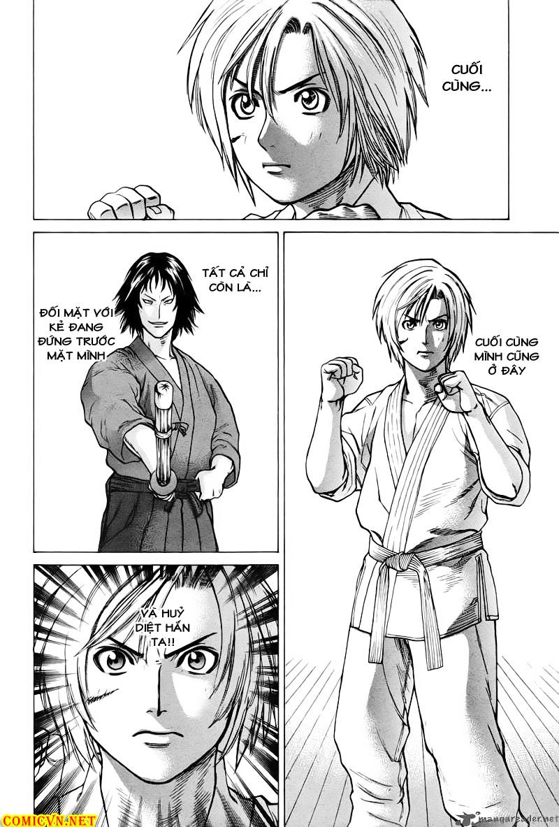 Karate Shoukoushi Kohinata Minoru chap 22 Trang 11