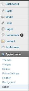 justify text in wordpress blogs