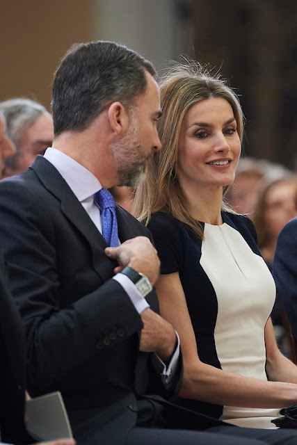 King Felipe and Queen Letizia attend 'National Culture Awards' 2015