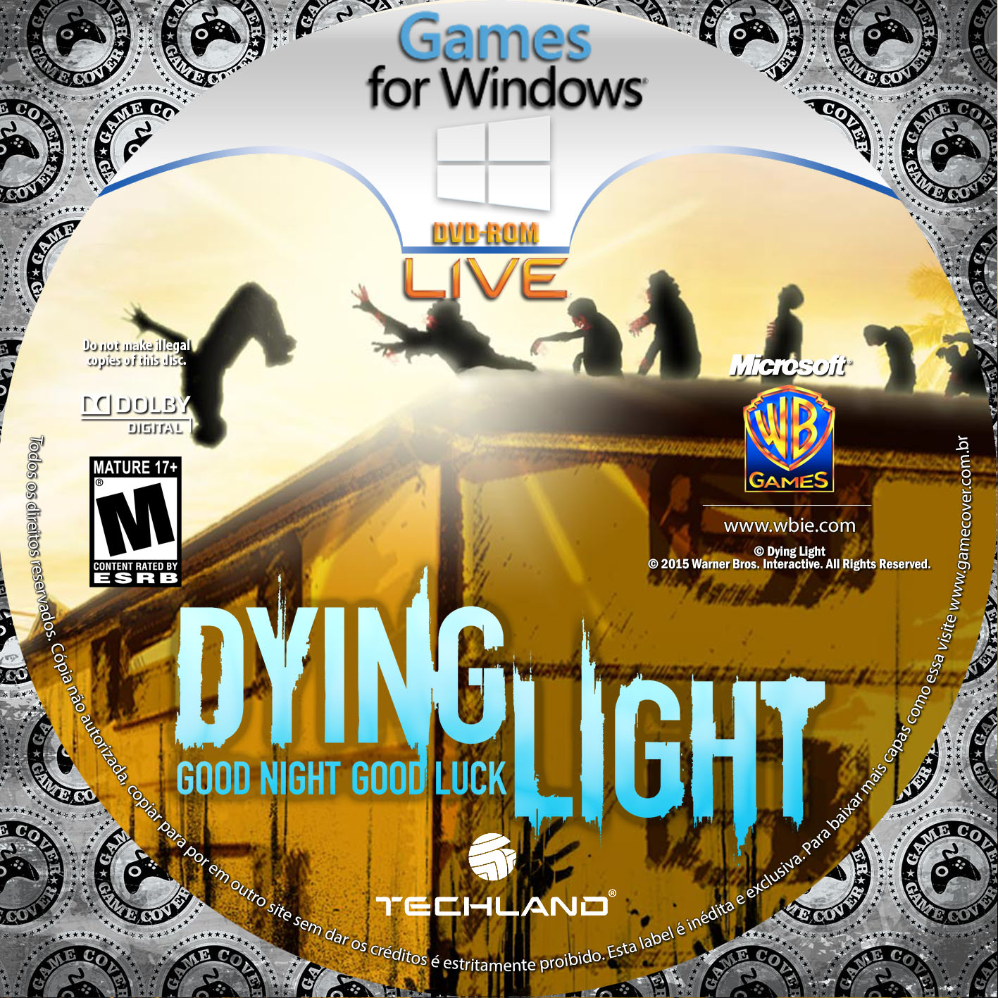Label Dying Light PC [Exclusiva]