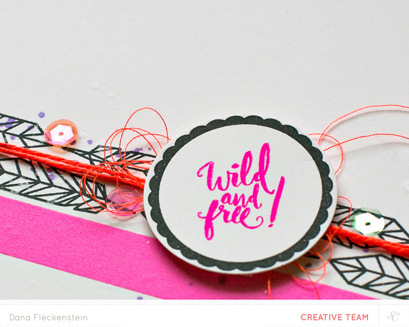 Wild and Free card by @pixnglue