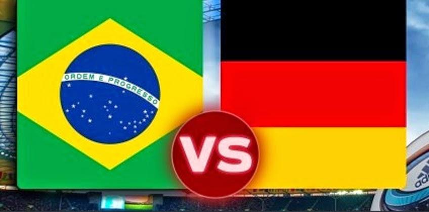 Prediksi Skor Brazil vs Jerman 9 Juli 2014 Piala Dunia