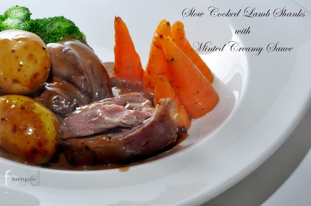 Slow Cooked Lamb Shanks ~ Simple Food