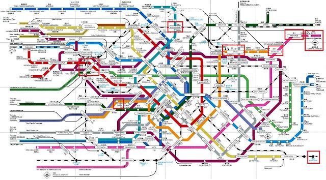 東京迪士尼樂園, Tokyo Disneyland, 交通, transport