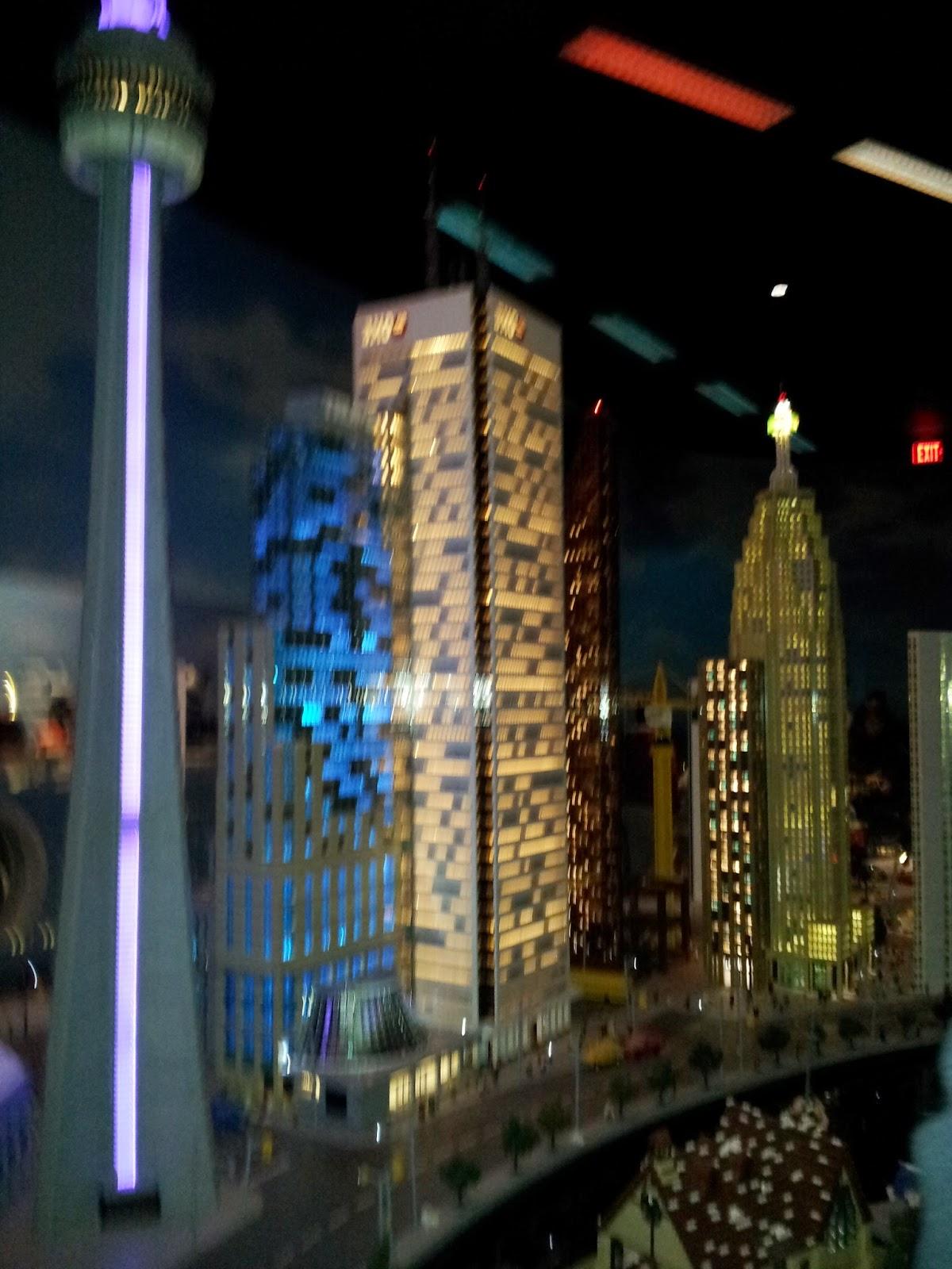 Legoland Miniland Toronto skyline, kids activities