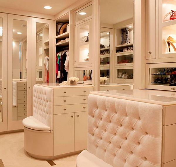 Dise o de closets de lujo casas decoracion - Armarios de lujo ...