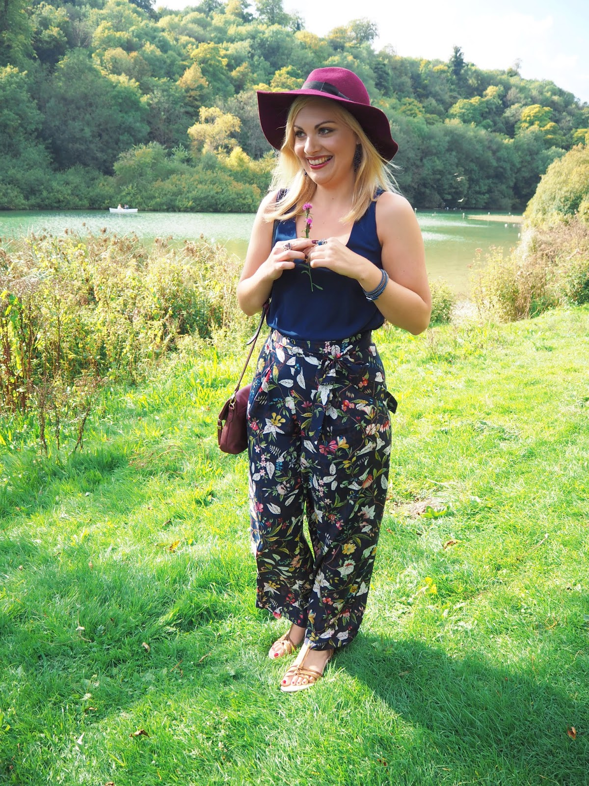 Fashion 70's Trend: Oasis Fedora Hat & V&A Wideleg Trousers