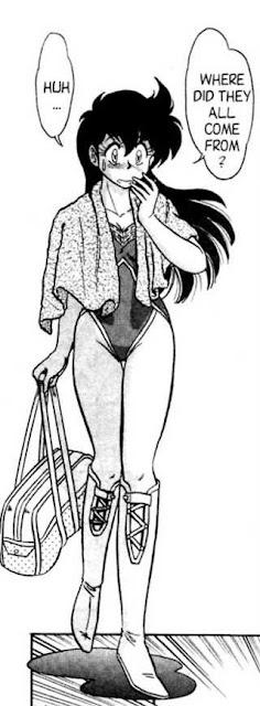 Manga wrestling girls