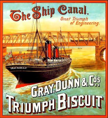 barco antiguo publicidad vintage